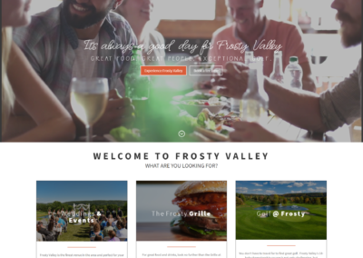 Frosty Valley Web Design